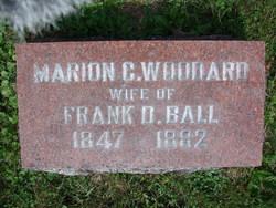 Marion C <i>Woodward</i> Ball