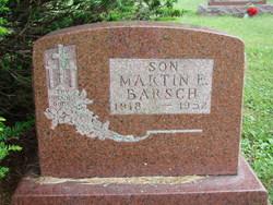 Martin E Barsch