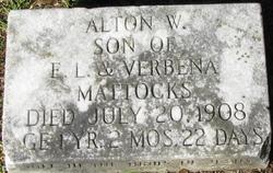 Alton W Mattocks