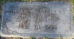 Alma C Mattocks