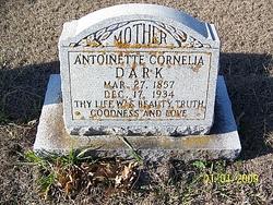 Antoinette Cornella <i>Gilliland</i> Dark