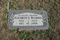 Elizabeth B Bearden