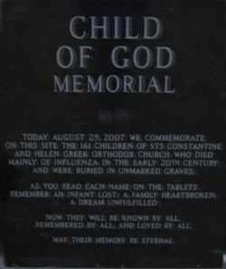 Child of God Memorial