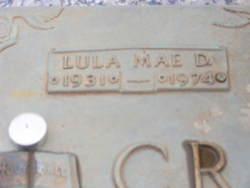 Lula Mae <i>DeRossett</i> Crawford