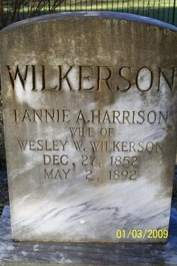 Fannie A. <i>Harrison</i> Wilkerson