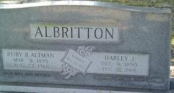 Ruby B. <i>Altman</i> Albritton