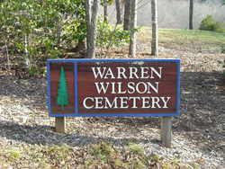 Warren Wilson College Cemetery