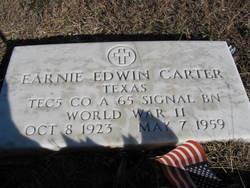 Earnie Edwin Carter