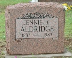 Jennie C. Aldridge