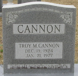 Troy M Cannon