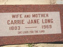 Carrie Jane Long