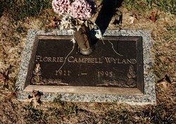 Florrie Elizabeth <i>Campbell</i> Wyland