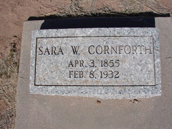 Sarah <i>Willis</i> Cornforth