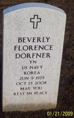 Beverly Florence Bev <i>Sweet</i> Dorfner