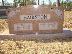 Fred Lovic Hairston, Sr