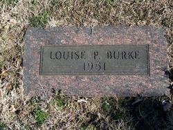 Louise A Lulu <i>Peters</i> Burke