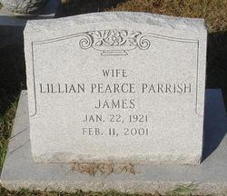 Lillian <i>Pearce</i> James