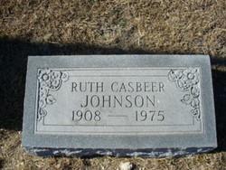 Ruth <i>Casbeer</i> Johnson