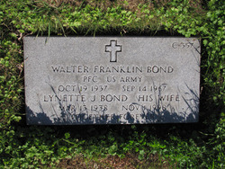 Walter Franklin Walt Bond