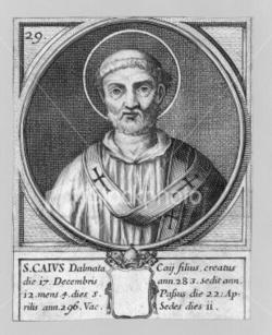 Pope Caius