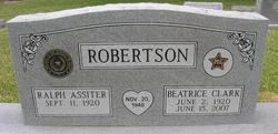 Beatrice <i>Clark</i> Robertson
