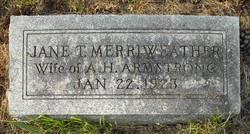 Jane Tillot <i>Merriweather</i> Armstrong