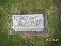 Everett D Hawver