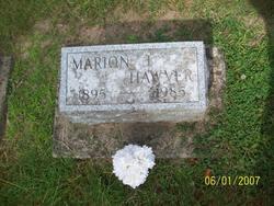 Marion J Hawver