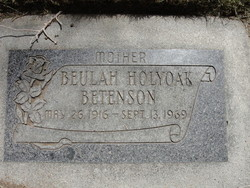 Beulah <i>Holyoke</i> Betenson