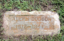 Aleph J <i>Brister</i> Dodson