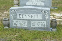 Vera Mahala <i>Petty</i> Bennett