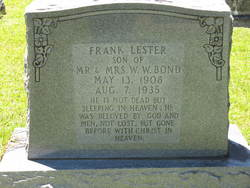 Frank Lester Bond