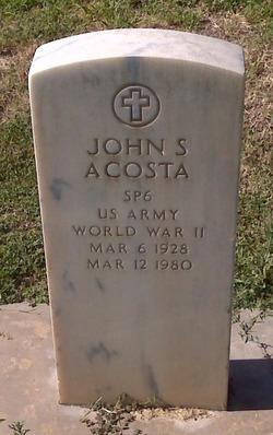 John S Acosta