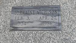 Zella Lorraine <i>French</i> Atchison