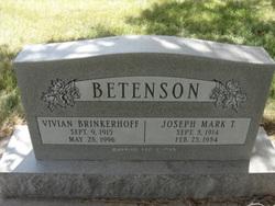 Vivian <i>Brinkerhoff</i> Betenson