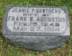 Jennie P. <i>Brothers</i> Augustus