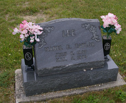Mabel E <i>Taylor</i> Lee