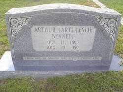 Arthur Art Leslie Bennett