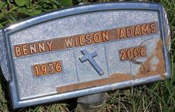 Benny Wilson Adams