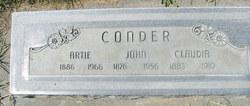 Artimissa Clemtine Artie <i>Morgan</i> Conder
