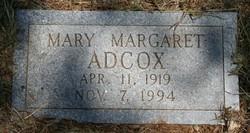 Mary Margaret Adcox