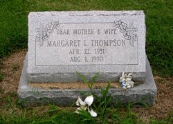 Margaret Lucille <i>Moehle</i> Thompson