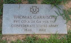 Pvt Thomas Garrison