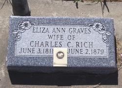 Eliza Ann <i>Graves</i> Rich