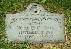 Nora Olive <i>Morton</i> Clester