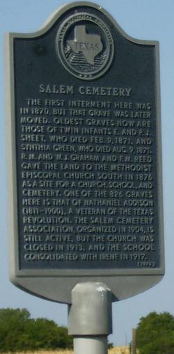 Salem - Irene Cemetery