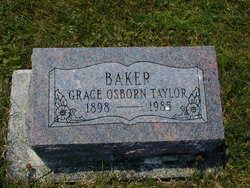 Grace Pauline <i>Osborn</i> Baker
