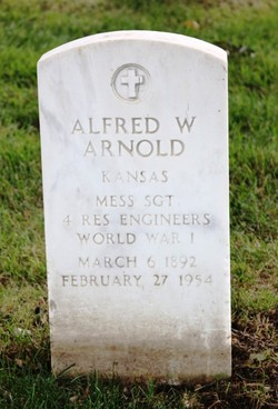 Alfred W Arnold