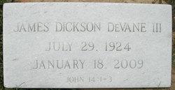 James Dickson DeVane, III