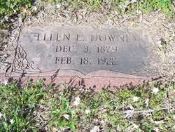 Ellen L. <i>Cornett</i> Downey